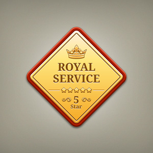 Royal Golden Badges
